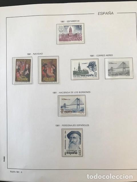 Sellos: España año 1981 HF80 con enteros postales y aerogramas VER IMAGENES - Foto 10 - 212076758