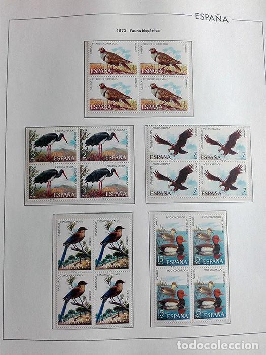 Sellos: España sellos año 1973 en bloque de 4 y Hojas edifil en negro HEBS70 73 VER IMAGENES - Foto 6 - 212079442