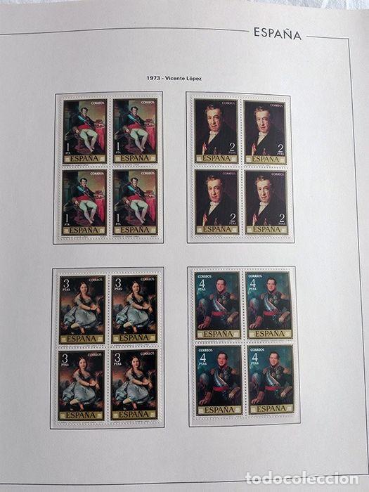 Sellos: España sellos año 1973 en bloque de 4 y Hojas edifil en negro HEBS70 73 VER IMAGENES - Foto 9 - 212079442