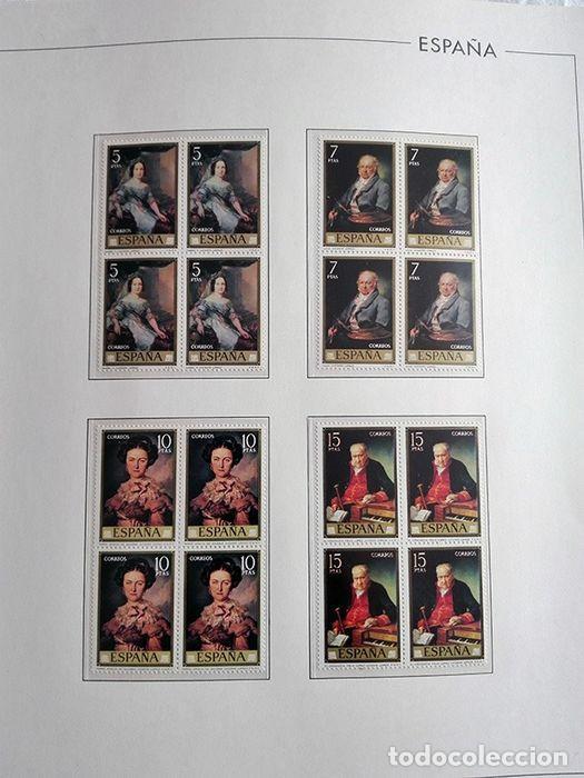 Sellos: España sellos año 1973 en bloque de 4 y Hojas edifil en negro HEBS70 73 VER IMAGENES - Foto 10 - 212079442