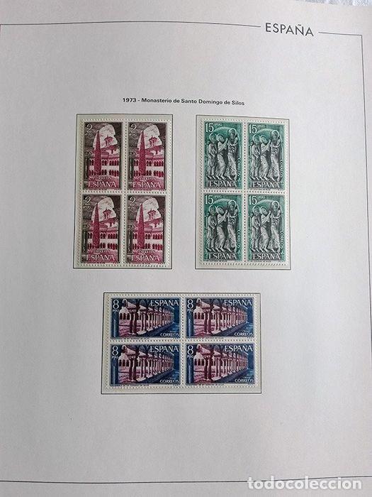 Sellos: España sellos año 1973 en bloque de 4 y Hojas edifil en negro HEBS70 73 VER IMAGENES - Foto 12 - 212079442