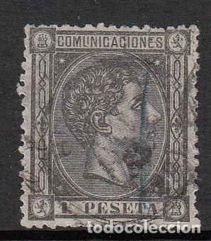 1875 SELLO NUM. 169 USADO (Sellos - España - Alfonso XII de 1.875 a 1.885 - Usados)