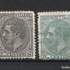 Francobolli: ESPAÑA 1879 EDIFIL 200/201 (*) - 3/29. Lote 215334337