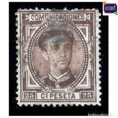 Selos: ESPAÑA 1876. EDIFIL 177. ALFONSO XII, USADO LEER. Lote 216792553