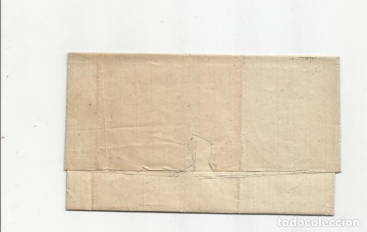 Sellos: circulada Y ESCRITA 1876 DE GARRUCHA VERA ALMERIA A BARCELONA FRANQUEO DE TRANSICION - Foto 3 - 217435658