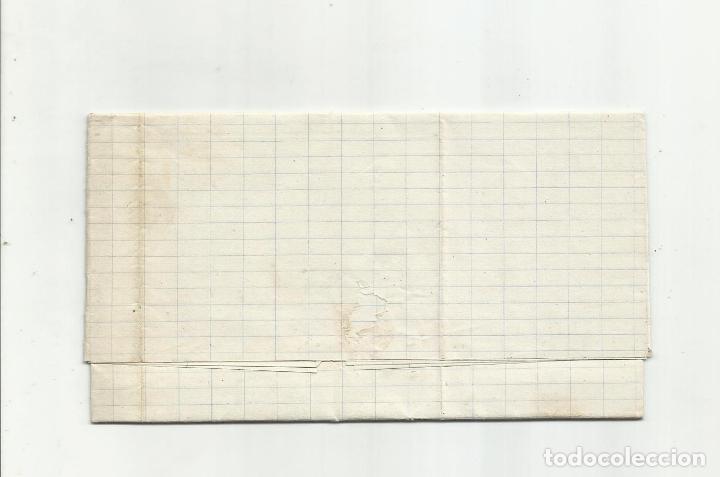 Sellos: circulada Y ESCRITA 1876 DE GARRUCHA VERA ALMERIA A BARCELONA FRANQUEO TRANSICION - Foto 3 - 217436130
