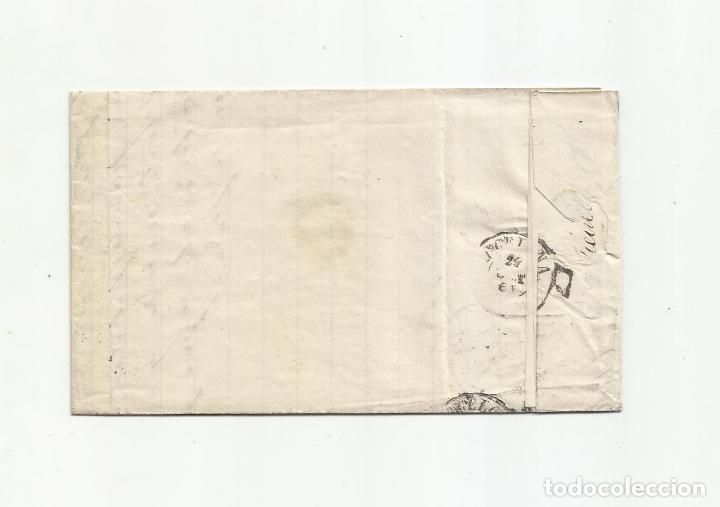 Sellos: circulada Y ESCRITA VENTA JABON 1869 DE ALMERIA A BARCELONA - Foto 3 - 217458632