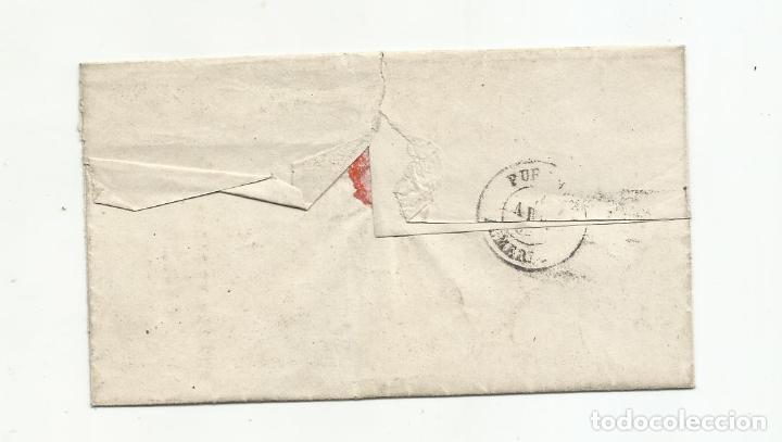 Sellos: ENVUELTA circulada 1869 DE ALMERIA A PURCHENA - Foto 2 - 217458971