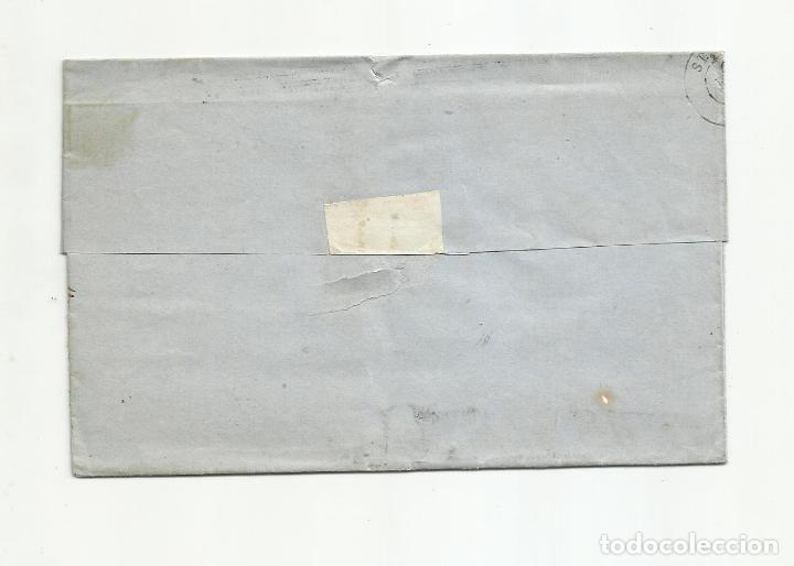 Sellos: ENVUELTA circulada 1868 DE ALMERIA A SEVILLA - Foto 2 - 217460236