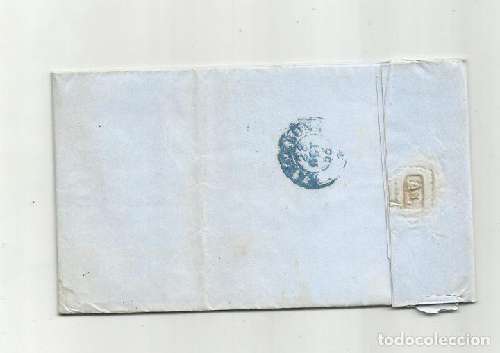 Sellos: circulada Y ESCRITA 1855 DE VERA ALMERIA A BARCELONA - Foto 3 - 217462938