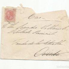 Sellos: CIRCULADA 1886 A DIPUTADO FONDA LA ESTRELLA OVIEDO ASTURIAS. Lote 222726726