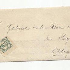 Sellos: IMPRESO CIRCULADO EMBARQUE 2 BULTOS PRIMER VAPOR 1888 DE BILBAO A ORTIGOSA POR LOGROÑO. Lote 222726926