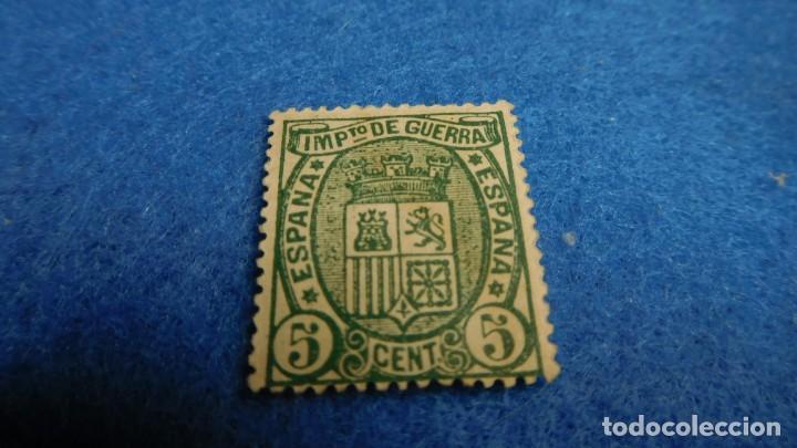SLLO POR IMPUESTO DE GUERRA DE 5 CENT. DE PESETA, 1875 (Sellos - España - Alfonso XII de 1.875 a 1.885 - Nuevos)