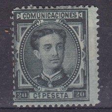 Selos: JJ38- CLÁSICOS ALFONSO XII EDIFIL 176 NUEVO .*CON FIJASELLOS. Lote 225281941