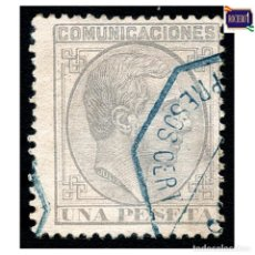 Selos: ESPAÑA 1878. EDIFIL 197. ALFONSO XII. USADO. Lote 228350375