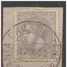 Sellos: 1879 ALFONSO XII ED. 204(*) USADO VC 23,00€ MATASELLOS TENERIFE. Lote 228842300