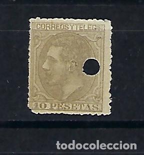 ESPAÑA. AÑO 1879. ALFONSO XII. 10 PESETAS (Sellos - España - Alfonso XII de 1.875 a 1.885 - Usados)
