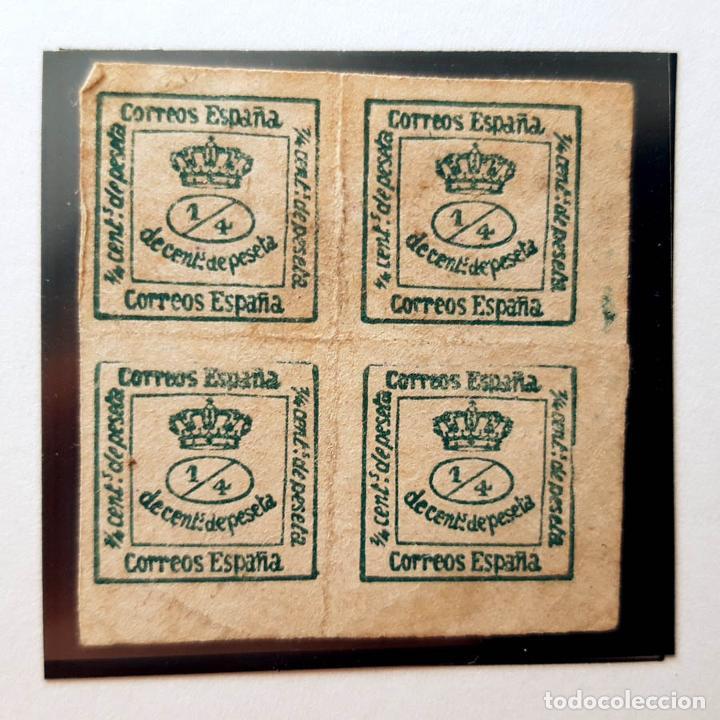 EDIFIL 173, 4/4, ALFONSO XII, 1876 (Sellos - España - Alfonso XII de 1.875 a 1.885 - Usados)