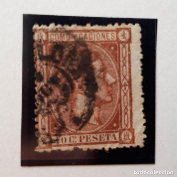 EDIFIL 167, 40 CENT, ALFONSO XII, USADO, 1875 (Sellos - España - Alfonso XII de 1.875 a 1.885 - Usados)