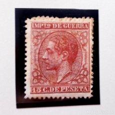 Sellos: EDIFIL 188, 50 CENT, CON CHARNELA, ALFONSO XII, IMPUESTO DE GUERRA, 1877. Lote 232091265