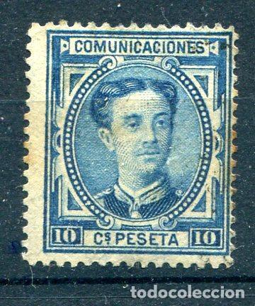 EDIFIL 175. 10 CTS ALFONSO XII AÑO 1876. NUEVO SIN GOMA. ALGO DE ÓXIDO VISIBLE EN LA FOTO (Sellos - España - Alfonso XII de 1.875 a 1.885 - Nuevos)