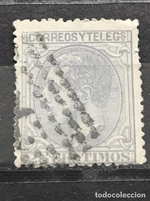 EDIFIL 204 º SELLOS ESPAÑA AÑO 1879 ALFONSO XII (Sellos - España - Alfonso XII de 1.875 a 1.885 - Usados)