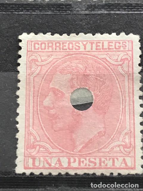 EDIFIL 207 º SELLOS ESPAÑA AÑO 1879 ALFONSO XII (Sellos - España - Alfonso XII de 1.875 a 1.885 - Usados)