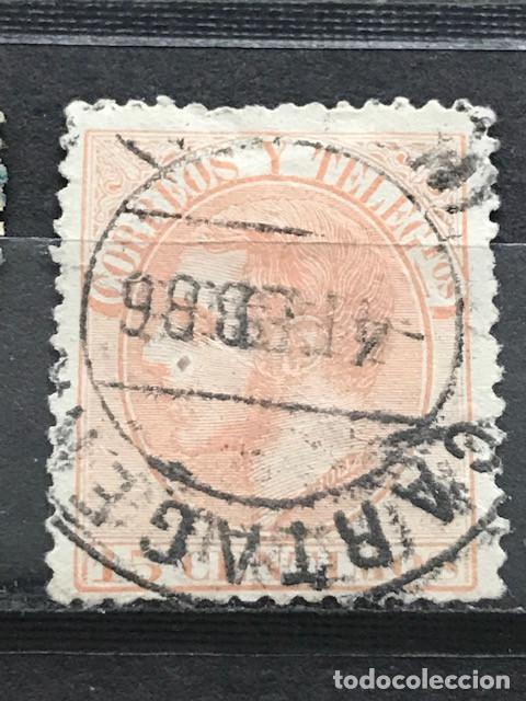 EDIFIL 210 º SELLOS ESPAÑA AÑO 1882 ALFONSO XII (Sellos - España - Alfonso XII de 1.875 a 1.885 - Usados)