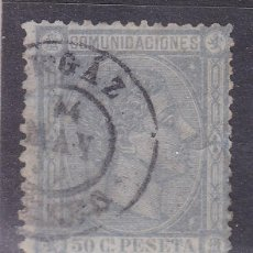 Selos: JJ33- CLÁSICOS ALFONSO XII EDIFIL 168. GRIS USADO ORGAZ TOLEDO. PERFECTO. Lote 236978330