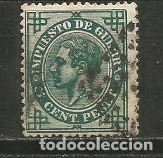 ESPAÑA EDIFIL NUM. 183 USADO (Sellos - España - Alfonso XII de 1.875 a 1.885 - Usados)