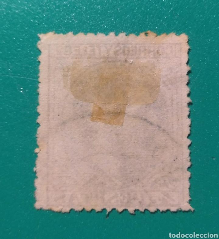 Sellos: España. 1879. Edifil 208. Alfonso XII. - Foto 2 - 242218195