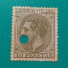 Sellos: ESPAÑA. 1879. EDIFIL 209 T. ALFONSO XII.. Lote 242219220