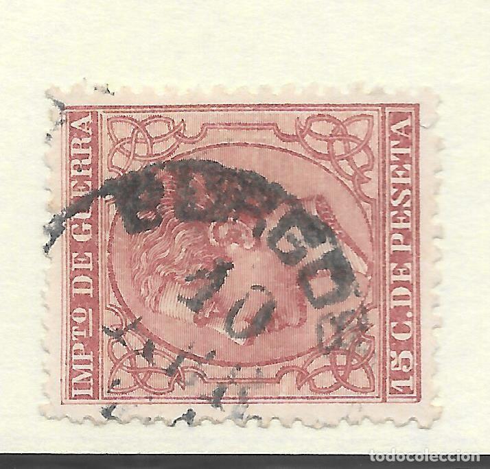 ALFONSO XII EDIFIL 188 15 CENTIMOS. FECHADOR DE BURGOS (Sellos - España - Alfonso XII de 1.875 a 1.885 - Usados)