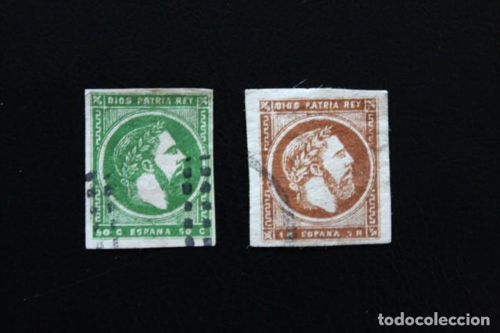 EDIFIL 160/161 USADOS EN BUEN ESTADO (LOS DE LA FOTO) (V.C.2021 180 EUROS) (Sellos - España - Alfonso XII de 1.875 a 1.885 - Usados)