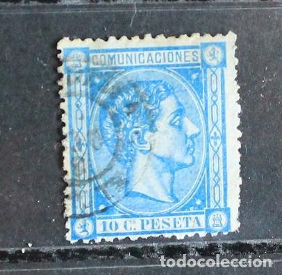 AÑO 1875 EDIFIL 164 USADO (Sellos - España - Alfonso XII de 1.875 a 1.885 - Usados)