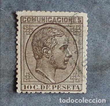 AÑO 1878 EDIFIL 192 USADO (Sellos - España - Alfonso XII de 1.875 a 1.885 - Usados)