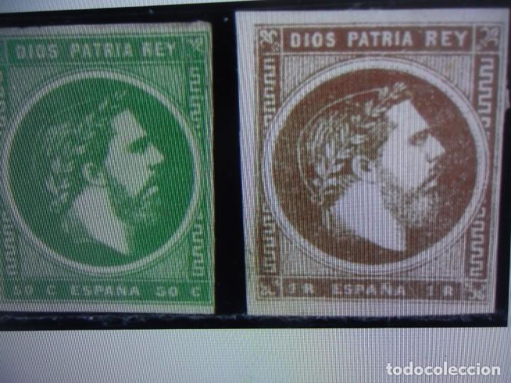 AÑO 1875. SELLO ESPAÑA. EDIFIL 160 - 161 *. NUEVO (Sellos - España - Alfonso XII de 1.875 a 1.885 - Nuevos)