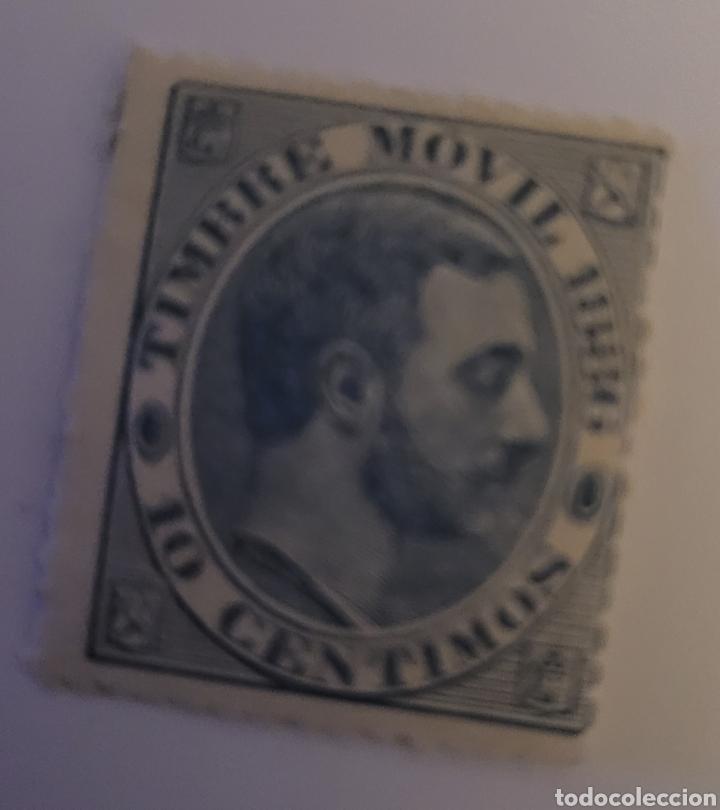 SELLO DE ESPAÑA 1882. ALFONSO XII 10 CTS. NUEVO (Sellos - España - Alfonso XII de 1.875 a 1.885 - Nuevos)