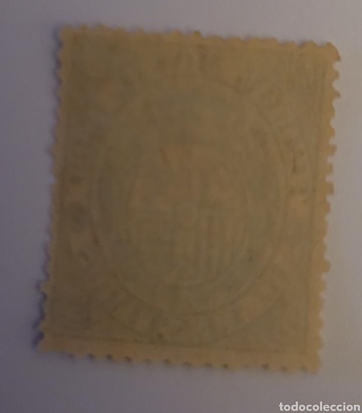 Sellos: Sello de España 1885. Escudo tipo II 10 cts. Nuevo - Foto 2 - 254175835