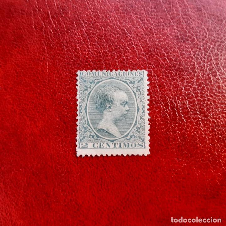 ESPAÑA. EDIFIL 213. (Sellos - España - Alfonso XII de 1.875 a 1.885 - Usados)