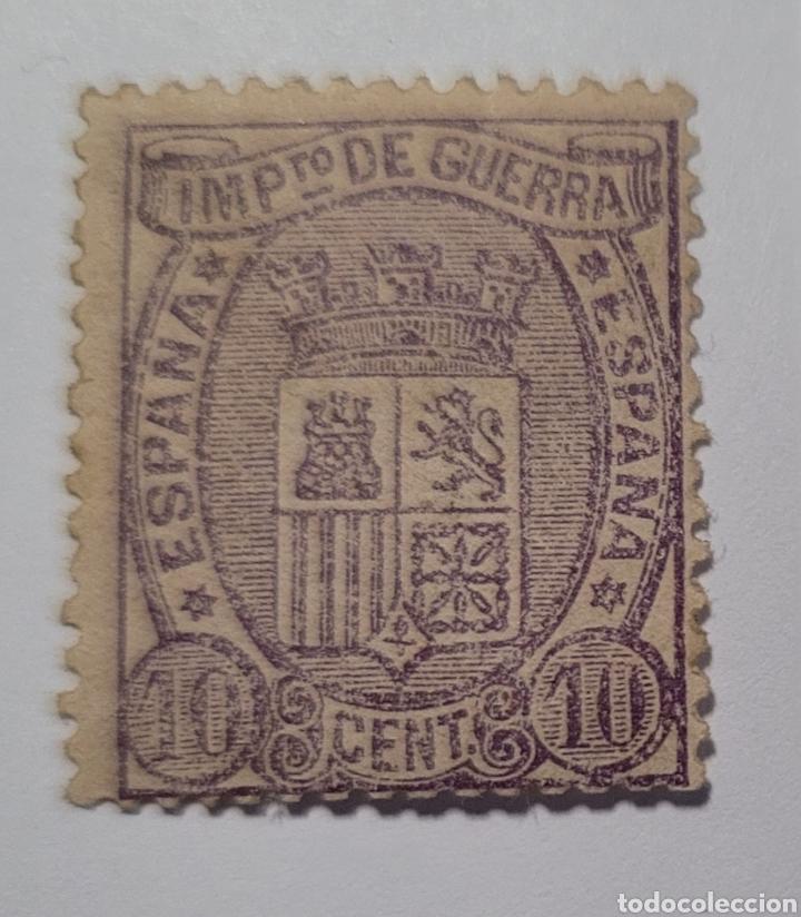 SELLO DE ESPAÑA 1875. ESCUDO DE ESPAÑA 10 CTS . NUEVO (Sellos - España - Alfonso XII de 1.875 a 1.885 - Nuevos)