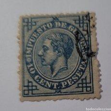 Sellos: SELLO DE ESPAÑA 1876. ALFONSO XII 10CTS. USADO. Lote 254871980