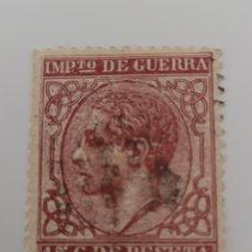 Sellos: SELLO DE ESPAÑA 1877. ALFONSO XII. 15 CTS DE PTS USADO.. Lote 255401530