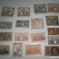 Sellos: LOTE DE SELLOS E IMPUESTOS DE GUERRA - 1873 A 1903. Lote 255440910