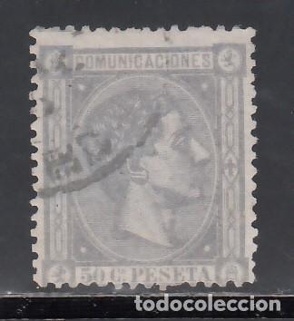 ESPAÑA, 1875 EDIFIL Nº 168, 50 C. LILA, ALFONSO XII (Sellos - España - Alfonso XII de 1.875 a 1.885 - Usados)