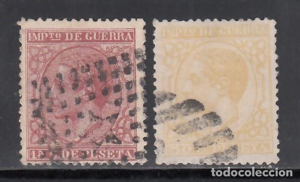 ESPAÑA, 1877 EDIFIL Nº 188, 189, (Sellos - España - Alfonso XII de 1.875 a 1.885 - Usados)