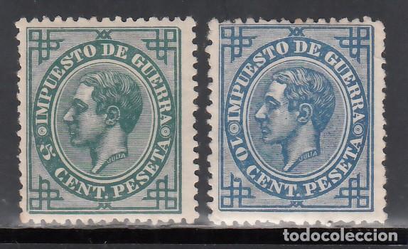 ESPAÑA, 1876 EDIFIL Nº 183, 184, /*/ (Sellos - España - Alfonso XII de 1.875 a 1.885 - Nuevos)