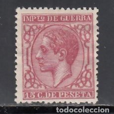 Sellos: ESPAÑA, 1877 EDIFIL Nº 188 /*/, 15 C. CARMÍN.. Lote 257309360