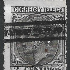 Sellos: ESPAÑA 1879 EDIFIL 200 BARRADO - 19/22. Lote 261928550