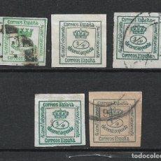 Sellos: ESPAÑA 1873 - 1876 EDIFIL 130 + 173 USADOS - 1/27. Lote 262089245